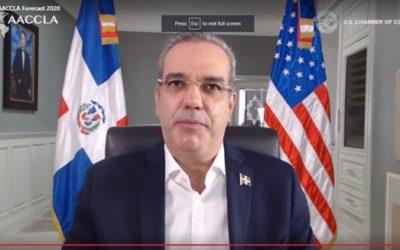 """Presidente Abinader: """"Es momento de invertir en República Dominicana"""""""